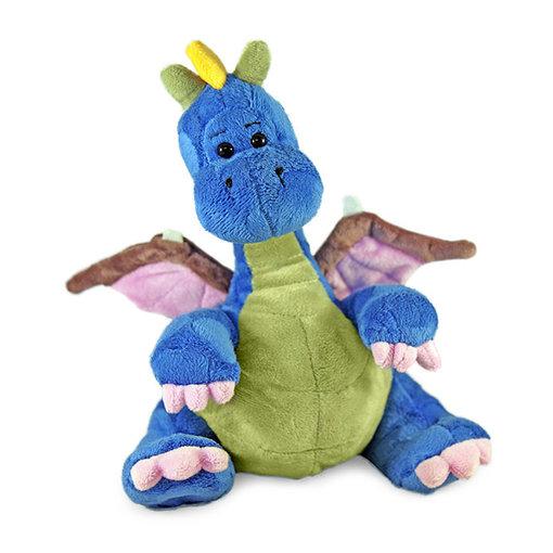 Neno de Draak knuffel blauw (23 cm)
