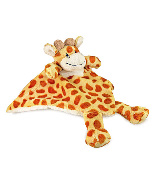 Jungle baby knuffeldoekje Giraf