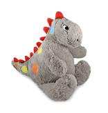 Anna Club Plush Vrolijke Dinosaurus knuffel grijs 'Igor'