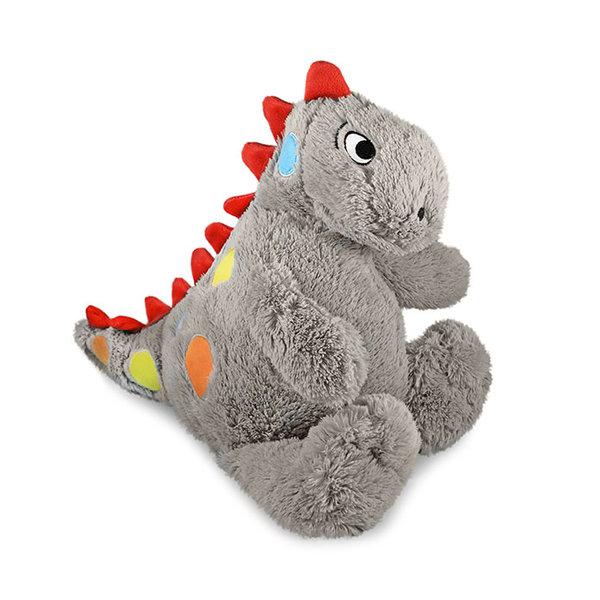 Vrolijke Dinosaurus knuffel grijs 'Igor'