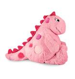 Anna Club Plush Vrolijke Dinosaurus knuffel roze 'Mila'
