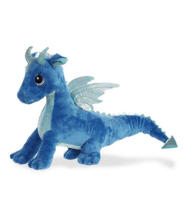 Aurora Draak knuffel 'Sparkle Tales' blauw Indigo