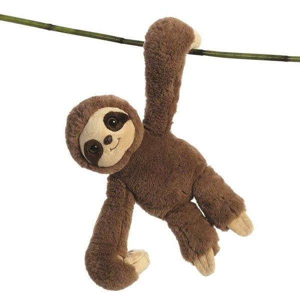 Luiaard knuffel 'Hang n swing luiaard'