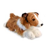 Hond knuffel Langharige Collie (Lassie Hond)