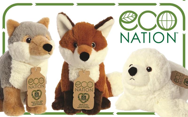 Duurzaamheid bij Fluzzy: Eco-knuffels en recyclede materialen