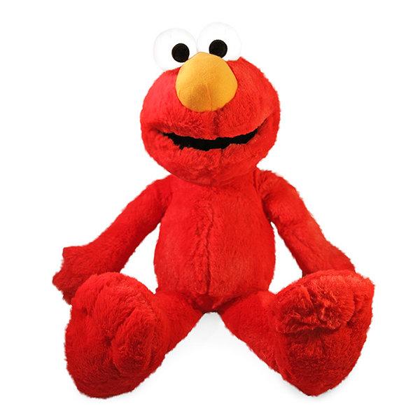 Sesamstraat Elmo knuffel, 54 cm