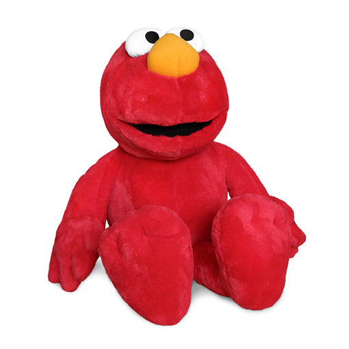 Sesamstraat Sesamstraat Elmo knuffel, 90 cm