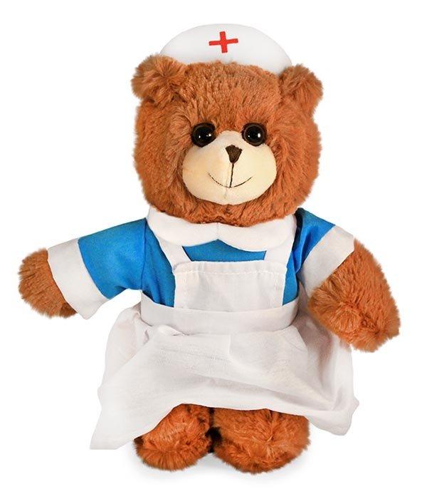 Teddybeer verpleegster knuffel