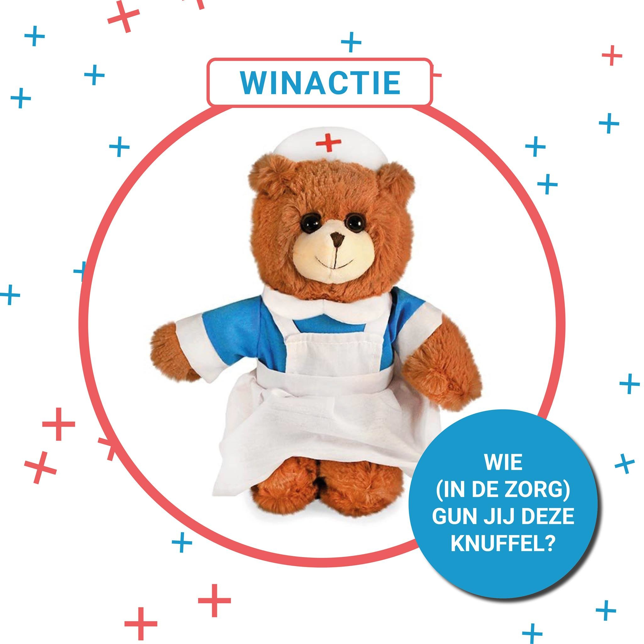 Teddybeer knuffel winnen