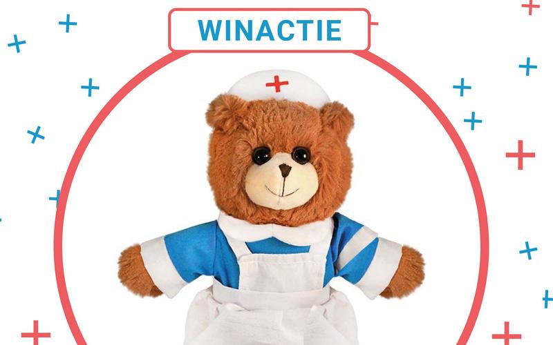 WINNEN! Welke held uit de zorg gun jij deze lieve teddybeer?