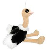 Struisvogel knuffel