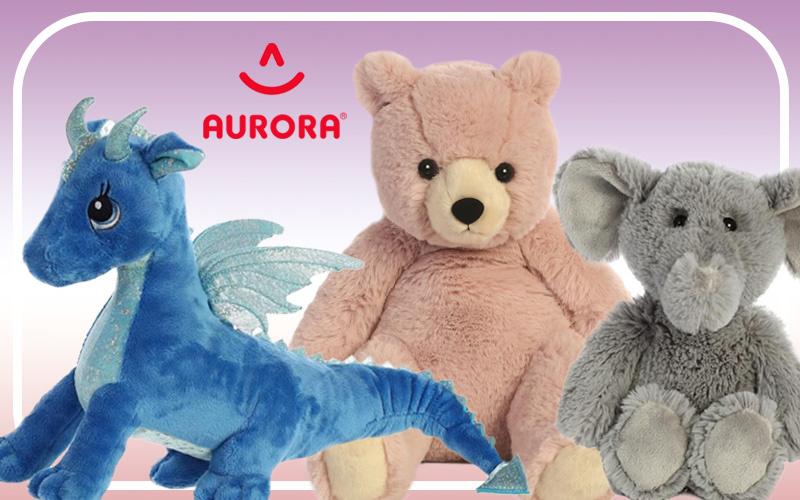 De leukste knuffel merken: Aurora