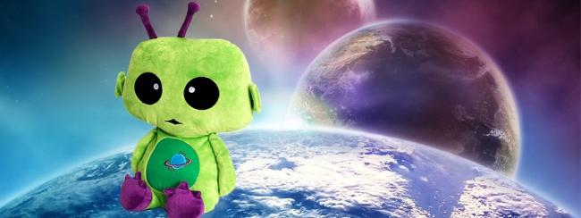 Alien zoekt nieuwe thuisplaneet