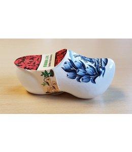 Delft Blau Blumen Holzschuhe Brennende Liebe