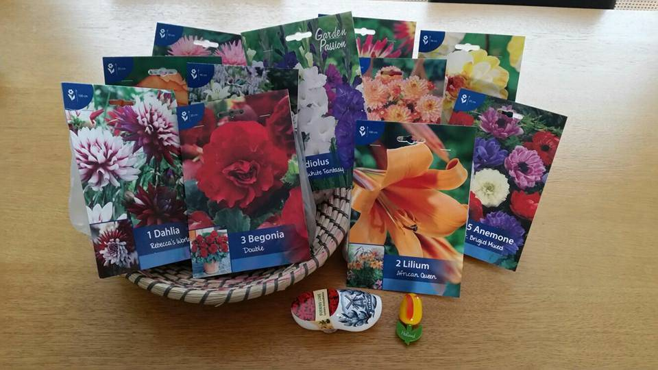 Facebook promotion - Chance @ free flowergift package