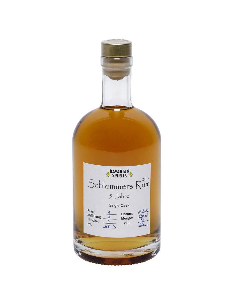 Schlemmer's Rum 5 Jähriger  - Schlemmer's Rum - 45, % vol. -  Fassgelagert in Eichenfässern