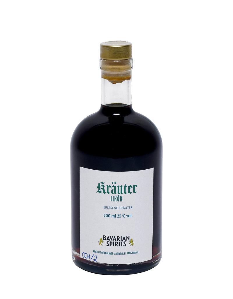 Brände, Liköre & Geiste Bavarian Spirits - feiner Kräuter Likör - 500 ml, 25,0 % vol.