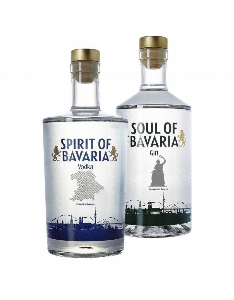 Soul of Bavaria - Gin Spirit of Bavaria - Vodka  &  Soul of Bavaria - Gin