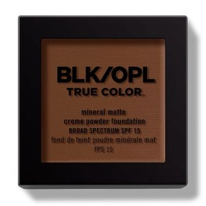 BLK/OPL TRUE COLOR Mineral Matte Crème Powder Foundation FPS 15