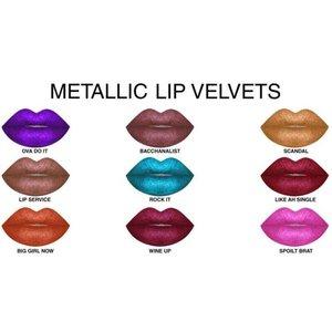 Sacha Metallic Lip Velvet
