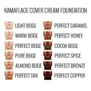 Sacha Kamaflage Cover Cream Foundation