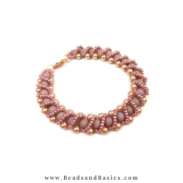 Rose Gold Statement Necklace - Thread Technology