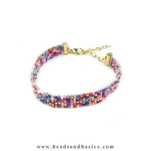 Weave Bracelet Making - Mix Colors Miyuki