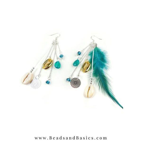 Self Boho Earrings Making