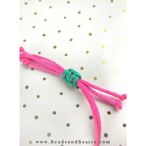 Bracelet with Sliding Knot