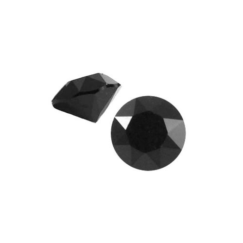 Puntsteen SS29 Zwart Shine 6.2mm