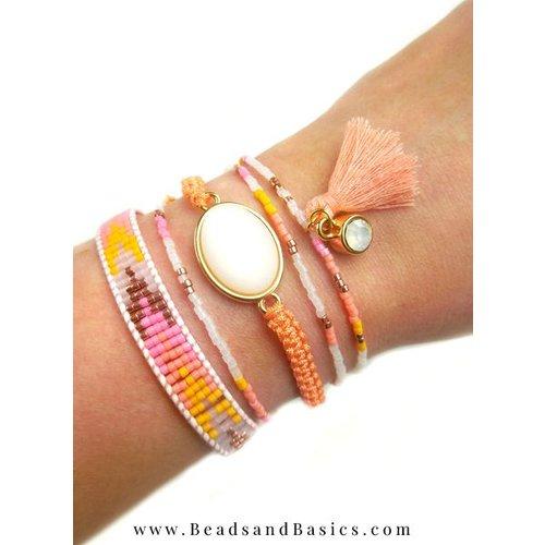 Summer Ibiza Style Bracelets with Miyuki Beads