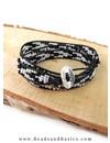 Zwart Witte Miyuki Wrap Armband Maken - DIY INSPIRATIE