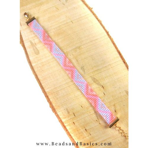Pink Miyuki Bracelet
