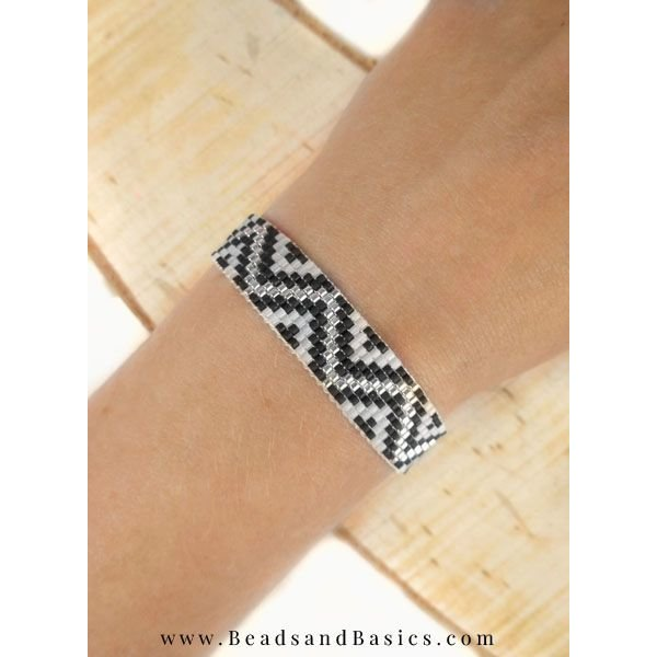 Miyuki Armband Maken Met ZigZag Patroon