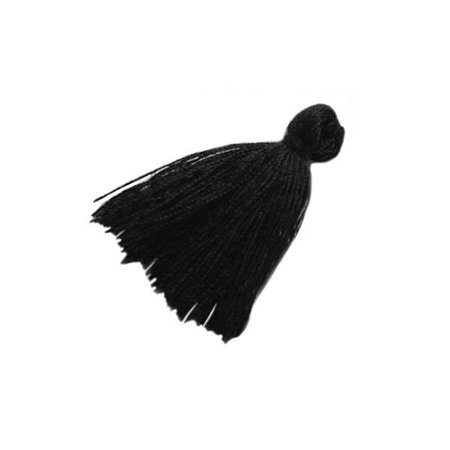 Tassel Black 30mm, 5 pieces