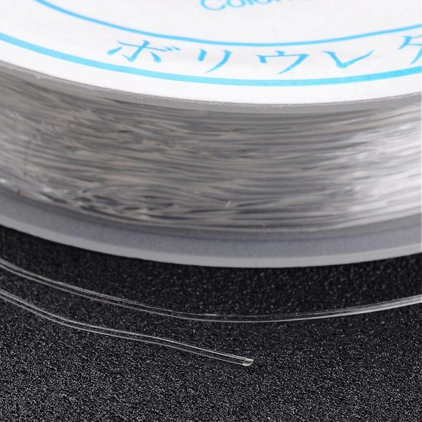 Clear Elastic 0.5mm, 12 meters
