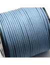 Faux Suede Cord Blue 3mm, 3 meter