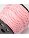 Faux Suede Cord Pink 3mm, 3 meter