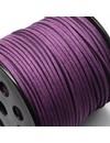 3m Purple Suede Lace 3mm