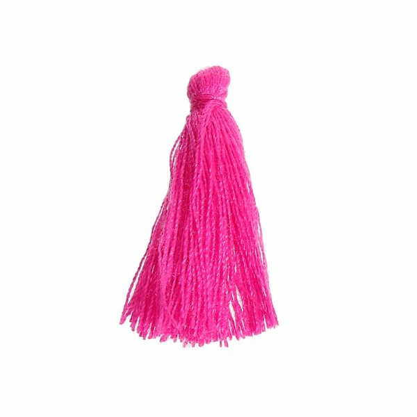 Tassel Fuchsia Pink 30mm, 5 pieces