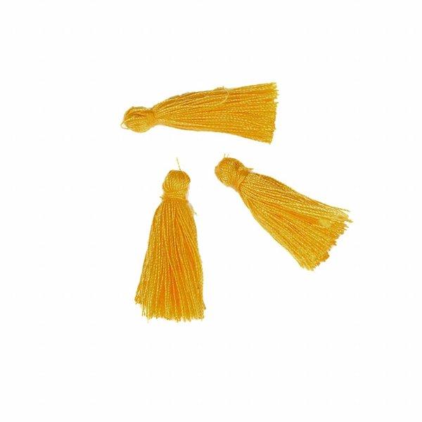 Tassel Sunny Yellow 30mm, 5 pieces