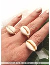 Adjustable Ring Gold 17mm, 3 pieces