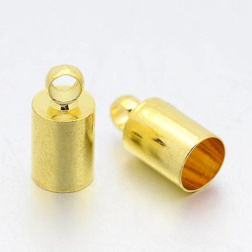 20 stuks Eindkapjes Goud Nikkelvrij voor 3mm Koord