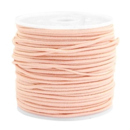 Elastiek 1.5mm Zalm Roze , 1 meter