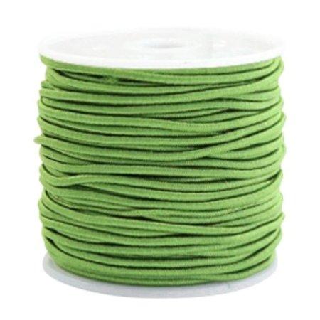 Elastic 1.5mm Green, 1 meter