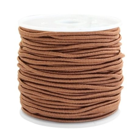 Elastic 1.5mm Brown, 1 meter