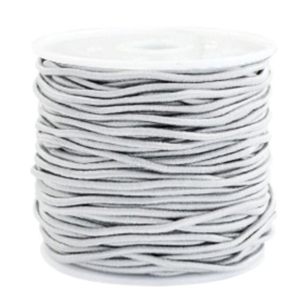 Elastic 1.5mm Light Gray, 1 meter