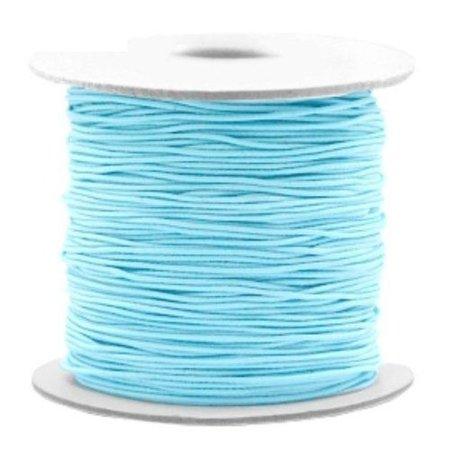 3 meter Elastic Blue 1mm