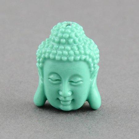 Buddha Kraal Mint 15x11mm