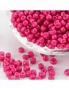 Fuchsia Seed beads 4mm, 20 gram